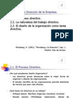TEMA 1 La Direccion de La Empresa