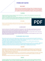 Types of Paints PPT