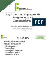 Algoritmos Linguagem Programacao Computadores II