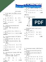 contoh soal Persamaan dan Fungsi Kuadrat 2.doc