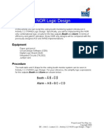 2.2.3 nor design logic activity