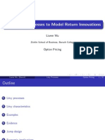 Using Levy Processes to Model Return Innovations