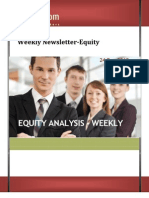 Weekly Newsletter-equity 24dec2012