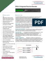 Tiernan TDR4022 data sheet