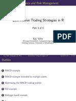 Quantitative Trading Strategies in R  Part 3 of 3