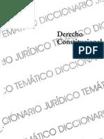 Biblioteca Diccionarios Juridicos Tematicos Vol 2 Derecho Constitucional