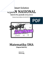 SMART SOLUTION UN MATEMATIKA SMA 2013 (SKL 2.12 PROYEKSI VEKTOR)