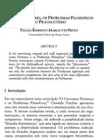 C - MARGUTTI,P.(2000) - O Neopirronismo, Os Problemas Filosoficos e o Pragmatismo