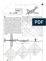 Avion Con Helice Origami
