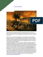 Persepolis- History in the Stars