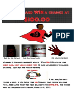 Stalking Awareness Month Flyer