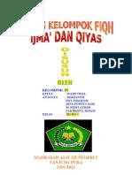 Ijma' dan Qiyas