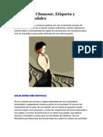 Protocolo, Glamour, Etiqueta y Buenos Modales