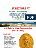 Guest Talk on ICU Infections