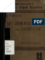 Alexandre Dumas--Les demoiselles de St. Cyr; comédie. With introd. and notes by Victor Oger (1886)