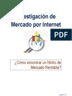 Como encontrar Nichos de Mercados Rentable para un Negocio por Internet