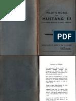 Pilot's Notes - P-51 Mustang