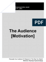 The Audience Motivation