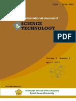 Aijst Volume 1 No 1 April 2012