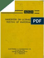 Handbook on Ultrasonic Testing of Materials-EEC-Publication Edition II