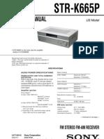 Sony STR-K665P Ver1.1 Service Manual