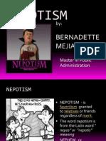 nepotism presentation.ppt