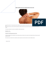 RESULTS OF BOWEN THERAPY STUDY INTO SHOULDER PAIN AND NECK PAIN