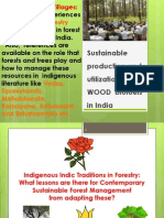 Trees,Tanks and Livelihood-India