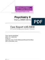 Role of Maintenance ECT in Bipolar I Disorder
