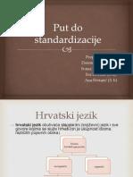 Standardizacija hrvatskoga jezika - 2012.