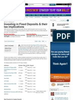 Investing in Fixed Deposits & Their Tax Implications - Moneycontrol.com