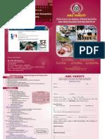 AMS Varsity Brochure