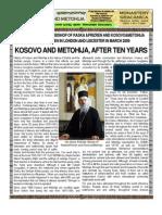 Lecture of Bishop Artemije