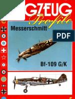 Flugzeug Profile 5 Messerschmitt Bf-109 GK