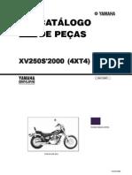 Catalogo Pecas Virago 250 2000-BR