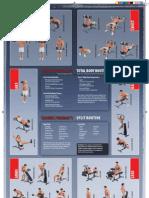 dumbbell exercise poster