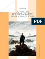 Die Funktion der Biografiearbeit in der Altenseelsorge