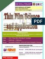 Thin Film and Application May 2013