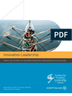 Leadership and innovation