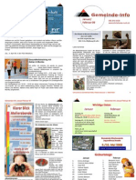 Gemeinde-Info Januar - Februar 2009