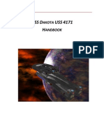 USS DAKOTA USS 4171 Handbook