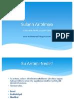 Suların Arıtılması - 1. Suların Arıtılmasına Giriş