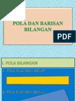 Pola Dan Barisan Bilangan(1)
