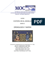 Historia de Al-Andalus Cronologia e Mapas