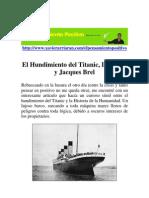 El titanic, La Crisis y Jacques Brel
