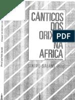Sikiru Salami - Canticos Dos Orixas Na Africa