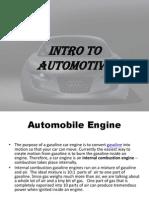 Intro to Automotive