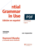 Essential Gramma In Use Spanish Tercera Edicion