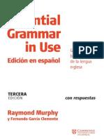 Essential Gramma In Use Spanish Tercera Edicion
