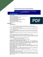 Las críticas a la modernidad en la ffía latinoamericana_bibliografía